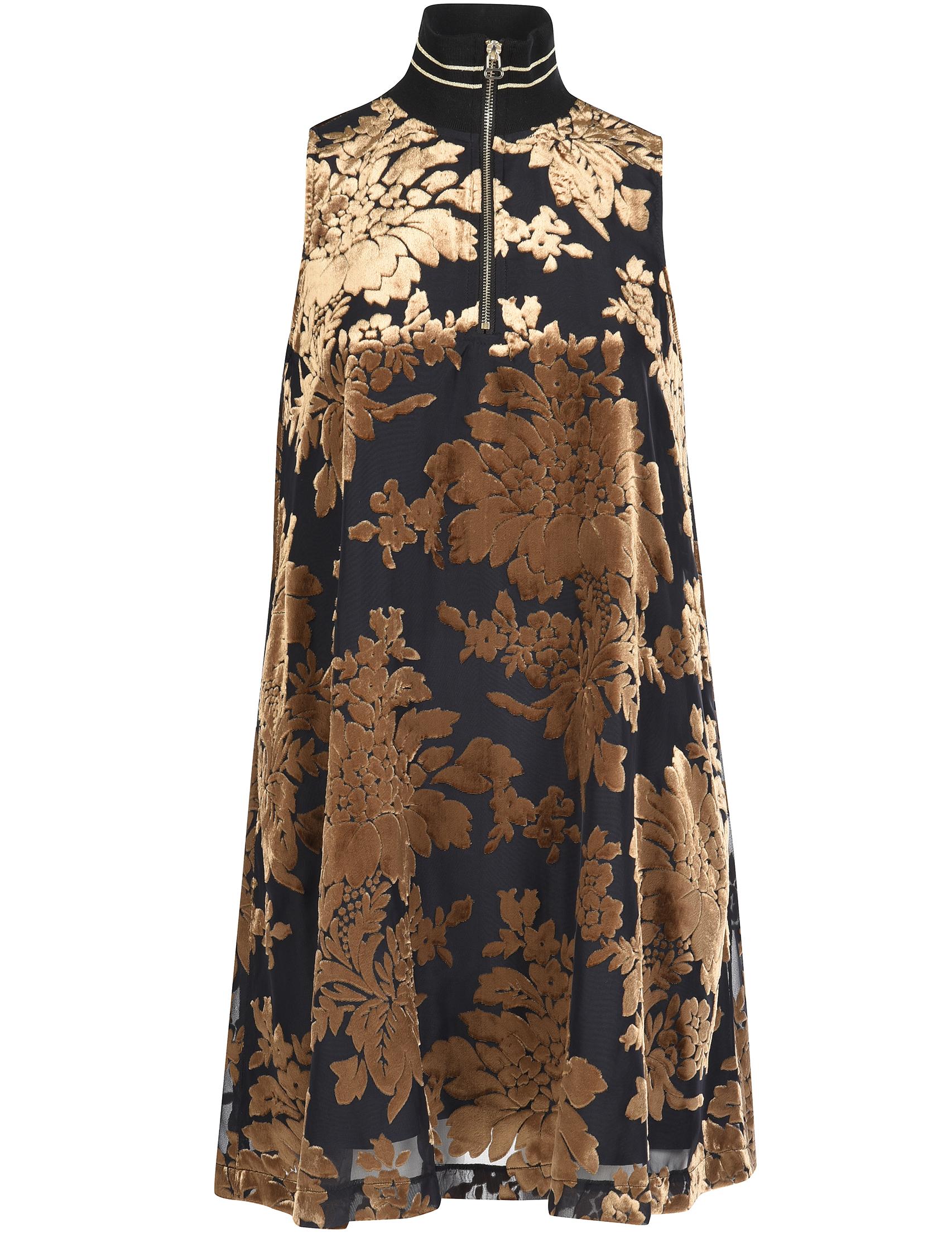Купить Платье, TWIN-SET, Золотой, 61%Вискоза 39%Полиамид, Осень-Зима