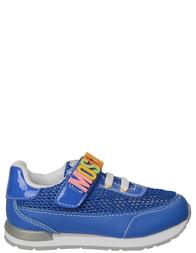 Детские кроссовки для мальчиков MOSCHINO 25680_blue