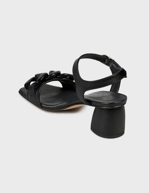 женские черные Босоножки Pertini 211W30918D2 - фото-2