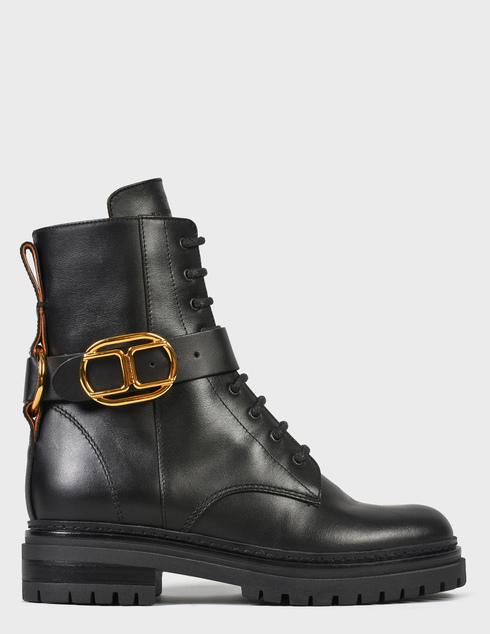 женские черные Ботинки Elisabetta Franchi SA-25B-16E2-V520-110 - фото-6