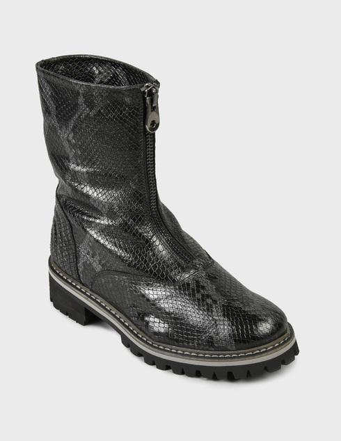 женские серые Ботинки Pertini 202W15979C3 - фото-2