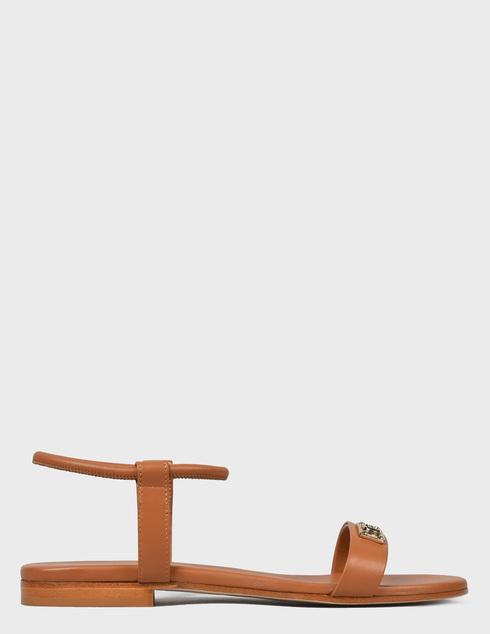 женские коричневые Босоножки Baldinini 199040XVITE404040RXX - фото-6