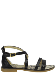 Детские сандалии для девочек ROBERTO CAVALLI C41566B_black