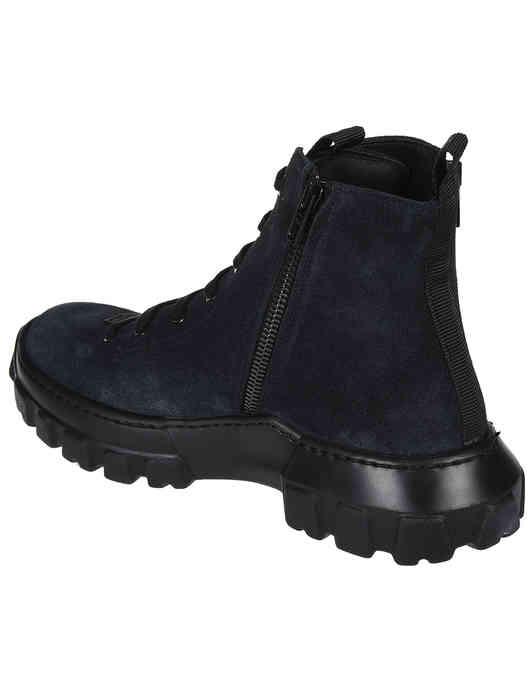 серые женские Ботинки Dsquared2 62440-NB-grafit_gray 6363 грн
