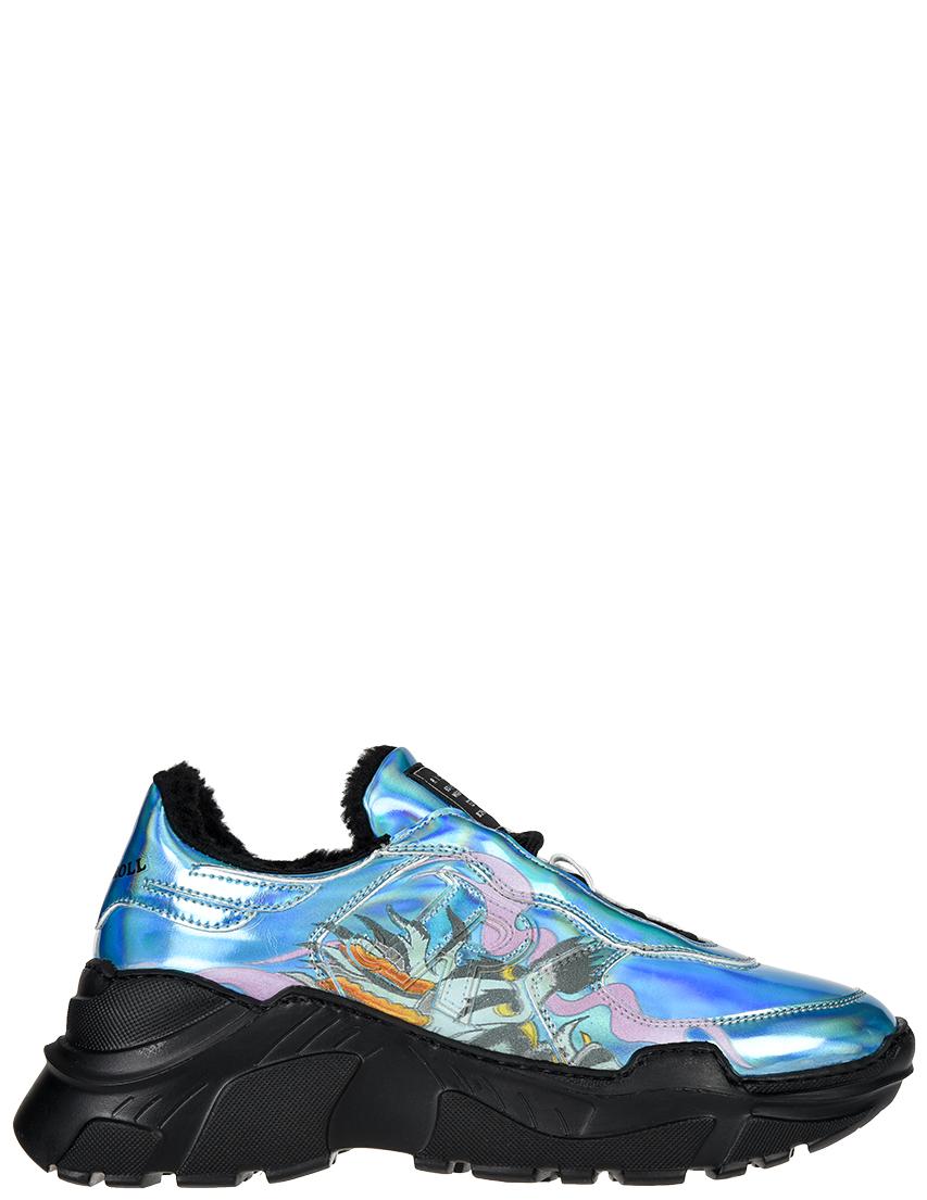 Кожаные цветные кроссовки JOHN RICHMOND (ITALY)