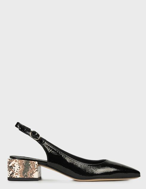 женские черные Босоножки Pertini 211W30743D7-V42 - фото-7
