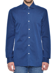 Мужская рубашка BARBA NAPOLI LFU136519001U_blue