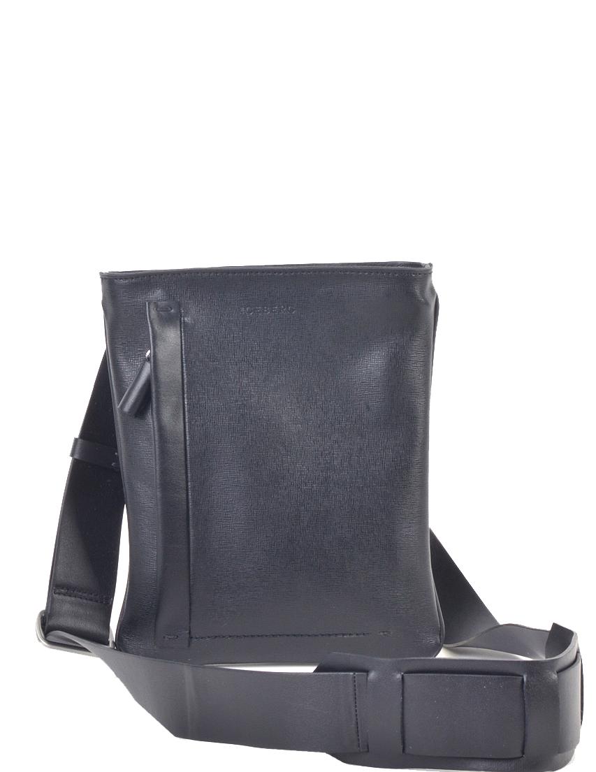 Купить Мужские сумки, Сумка, ICEBERG, Черный, Осень-Зима