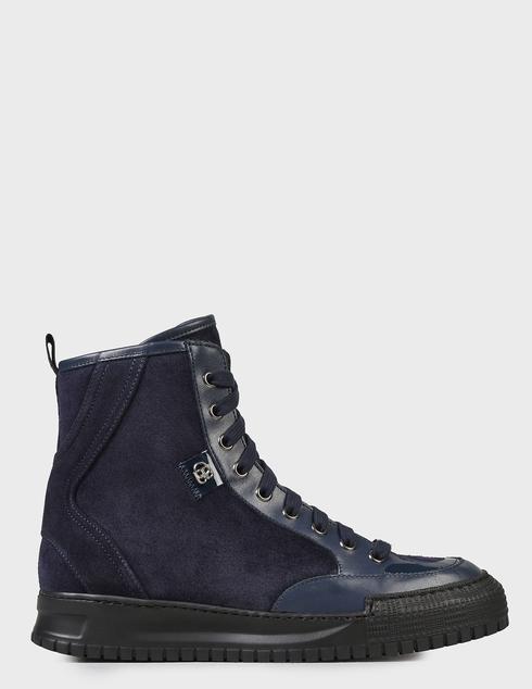 женские синие Ботинки Baldinini D2BS03VIVC1515 - фото-7