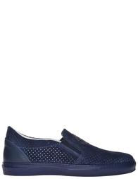 Мужские слипоны Roberto Cavalli AGR-2064_blue