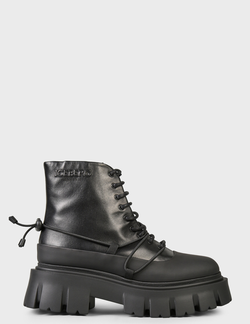 женские черные Ботинки Iceberg 2IID1857 - фото-6