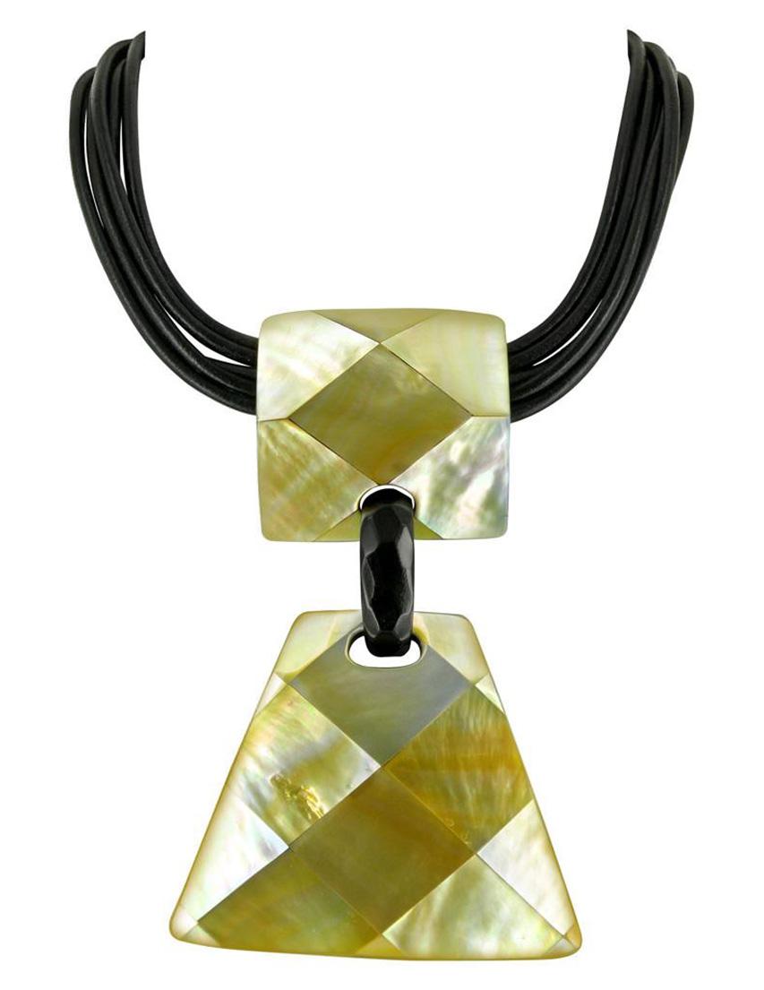Купить Ожерелья, Ожерелье, NATURE BIJOUX, Желтый, Осень-Зима