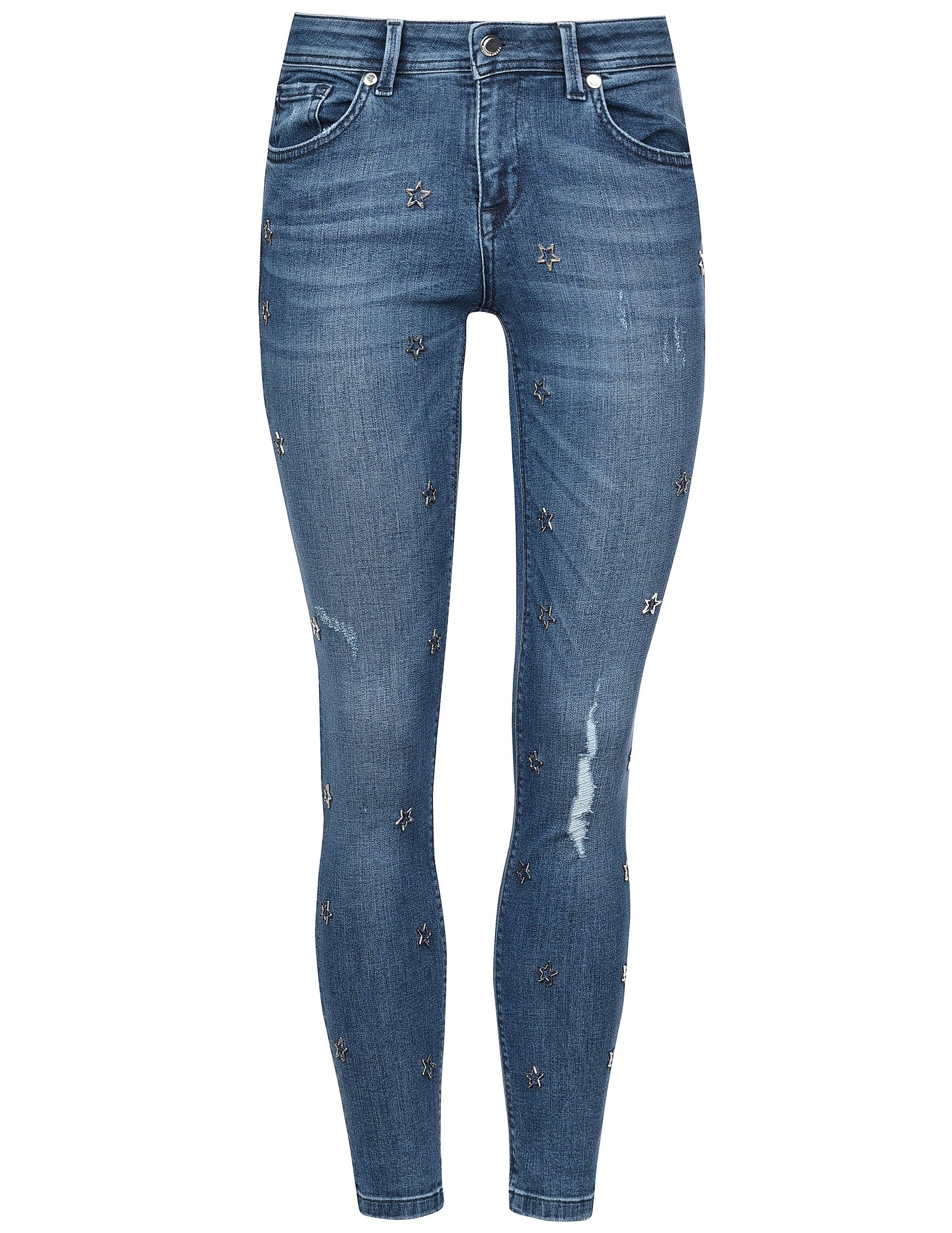 Женские джинсы SILVIAN HEACH PGA18097JE-Blue