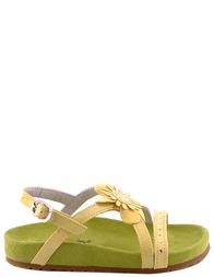 Детские сандалии для девочек NATURINO 4980green