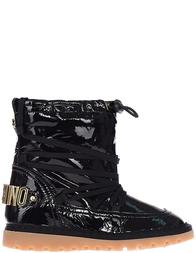 Детские сапоги для девочек Moschino 25922-nero_black