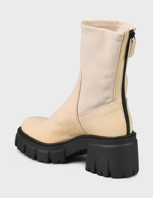 женские бежевые Ботинки Loriblu 2I6TM02400-LATTE - фото-2
