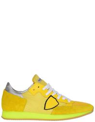 Женские кроссовки Philippe Model STRLD-NT10_yelow