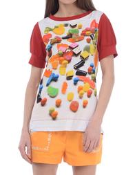Женская футболка LOVE MOSCHINO 4E8401E12574217
