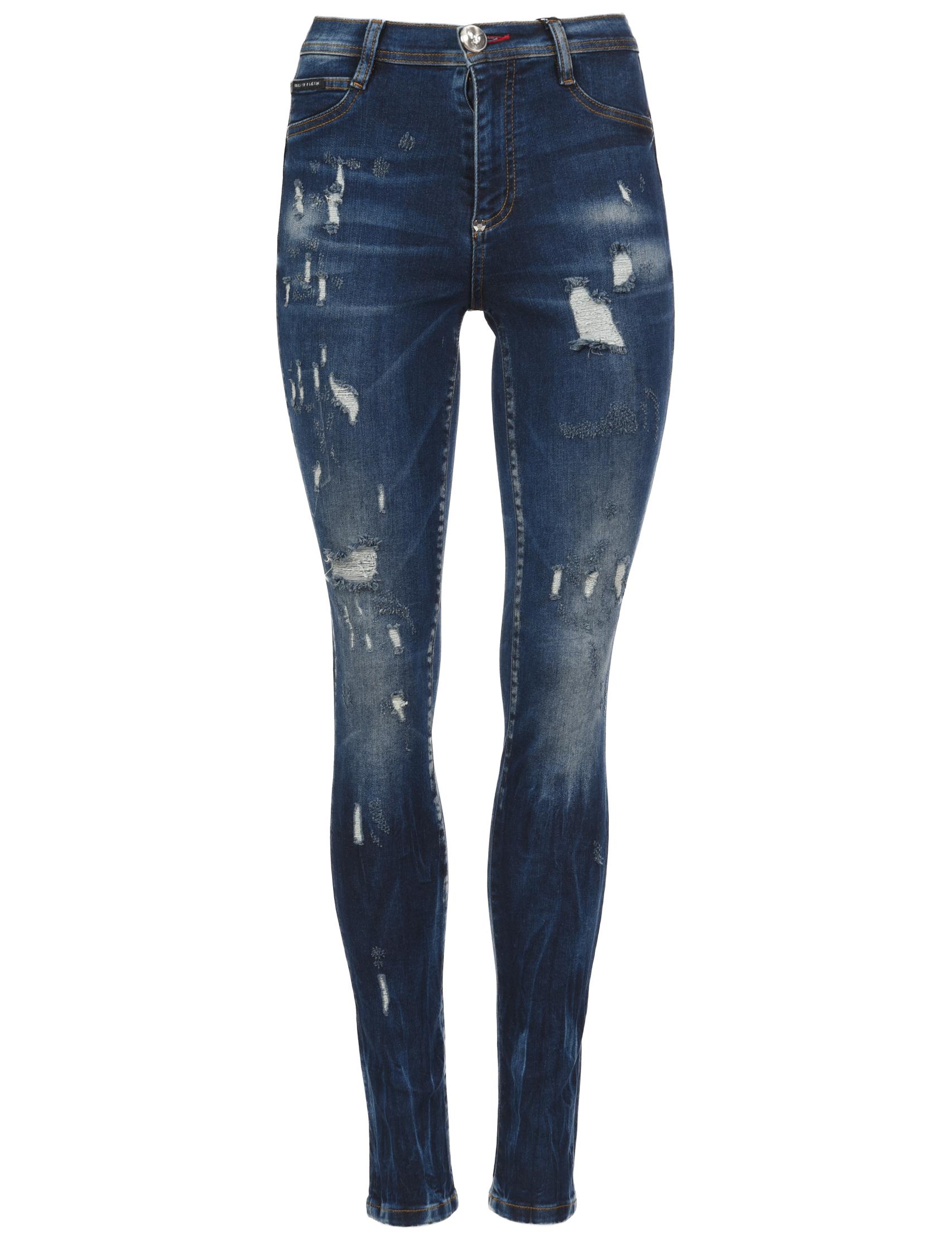 Женские джинсы PHILIPP PLEIN 0905_blue