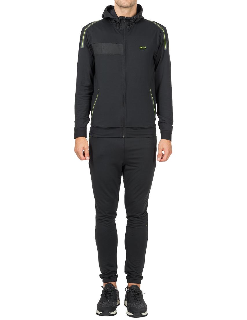 Купить Спортивный костюм, HUGO BOSS, Черный, 85%Полиэстер 15%Эластан, Осень-Зима