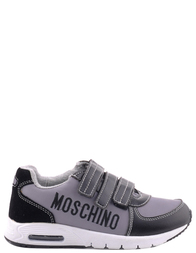 MOSCHINO Серые кроссовки для мальчика