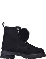 Женские ботинки Stokton BLK14-LЗ-fox_black