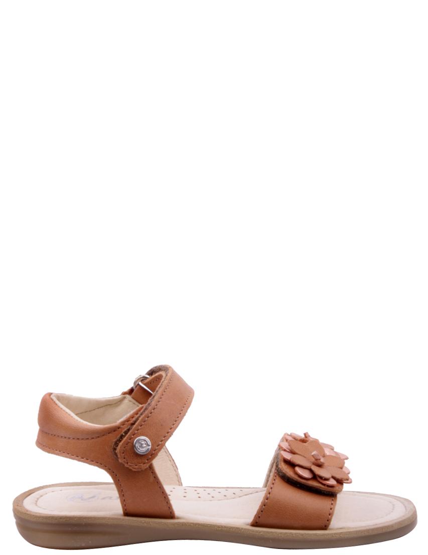 Детские босоножки для девочек NATURINO 2361-brown