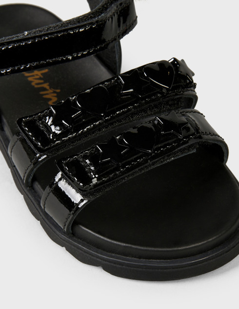Naturino Faleria-vernice-nero-black фото-5