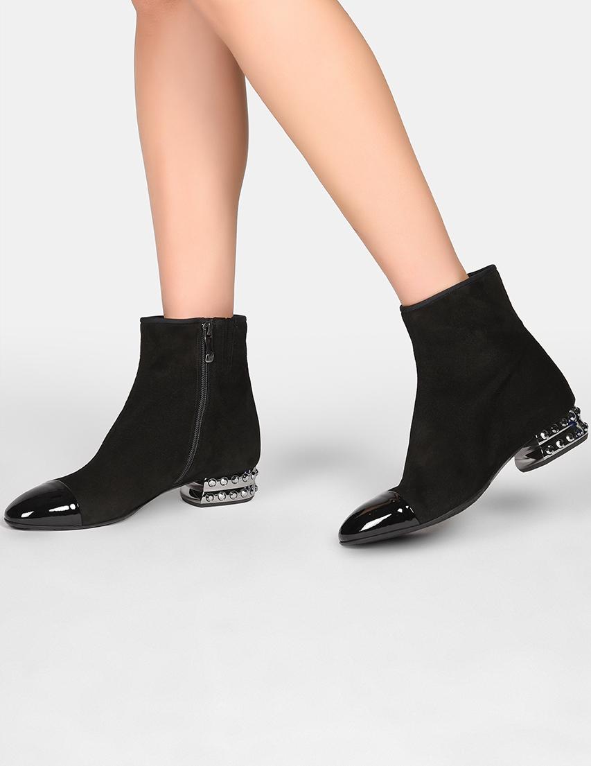 Женские ботинки Giovanni Fabiani 5041_black