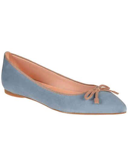 женские голубые Балетки Unisa areny_blue - фото-2