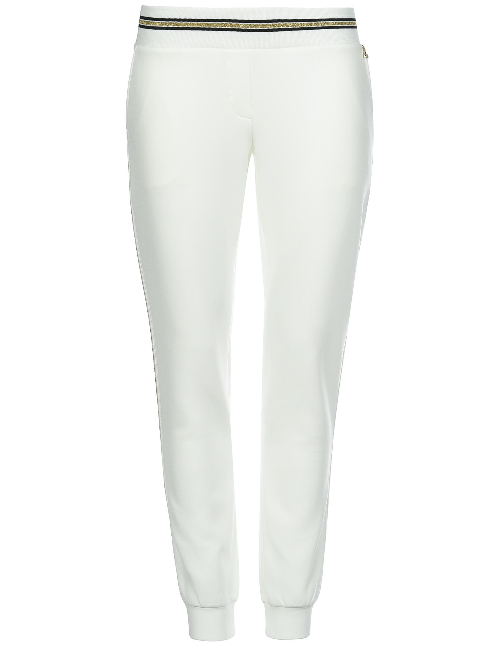 Купить Спортивные брюки, PATRIZIA PEPE, Белый, 92%Полиэстер 8%Эластан;100%Полиэстер, Осень-Зима