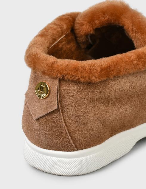 женские коричневые замшевые Ботинки Loriblu 1I29502522- FANMO - фото-5