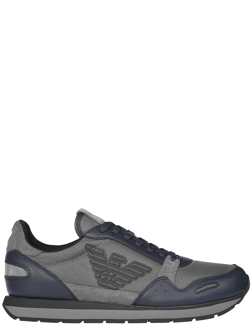 Modoza / Мужские кроссовки Emporio Armani 215-C426_gray