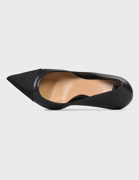 женские черные кожаные Туфли Elisabetta Franchi SA-30B-16E2-V490-110 - фото-5