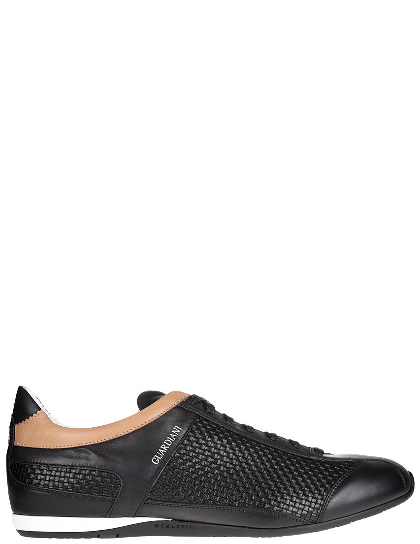 Мужские кроссовки Alberto Guardiani SSU76336_black