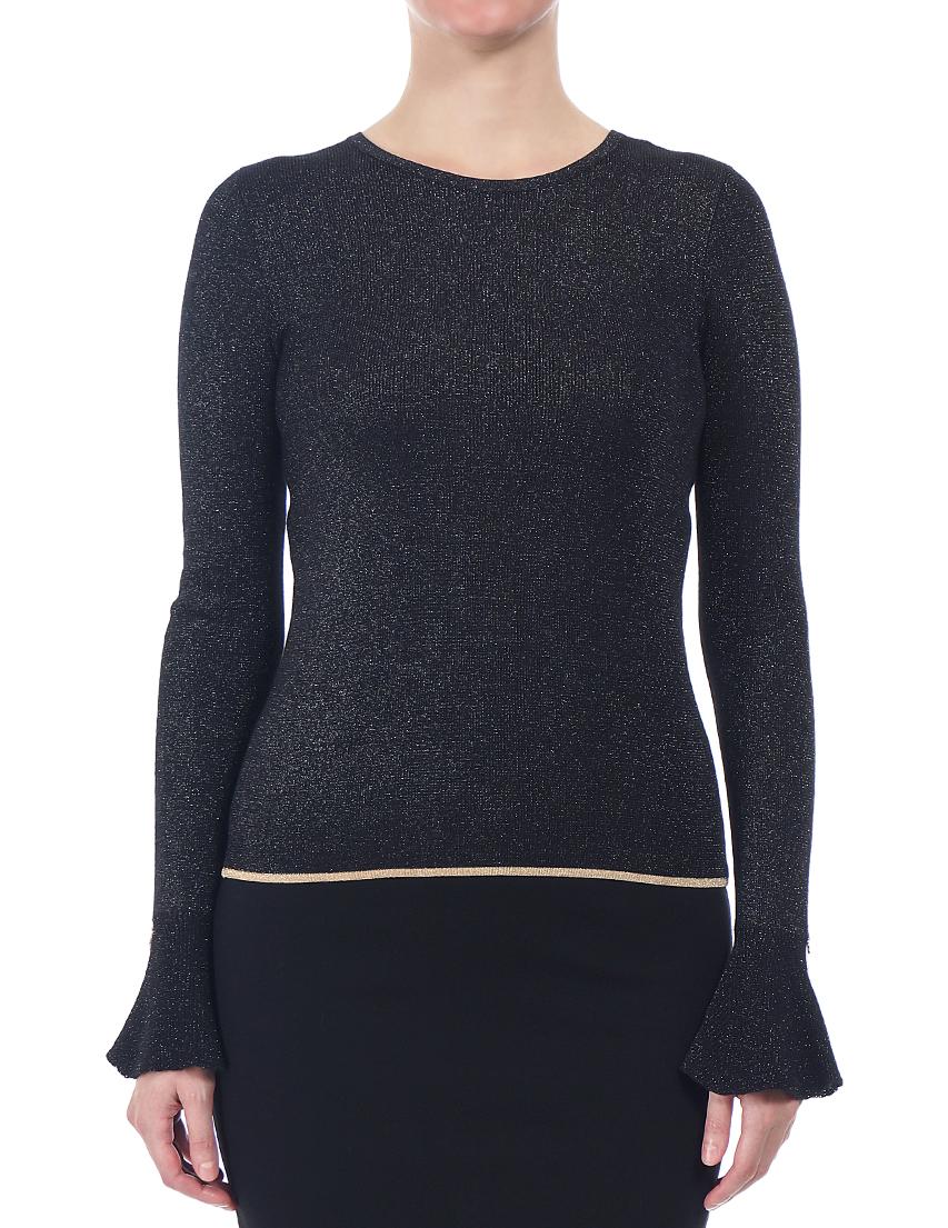 Купить Блуза, PATRIZIA PEPE, Черный, 75%Вискоза 10%Метал 15%Полиамид, Осень-Зима