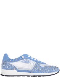 Женские кроссовки Philipp Plein 0179_blue