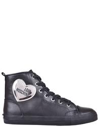 Женские кеды Love Moschino 15093-silver_black