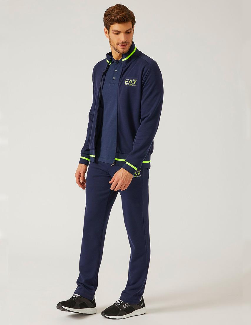 Купить Спортивный костюм, EA7 EMPORIO ARMANI, Синий, 68%Полиэстер 29%Вискоза 3%Эластан;98%Полиэстер 2%Эластан, Весна-Лето