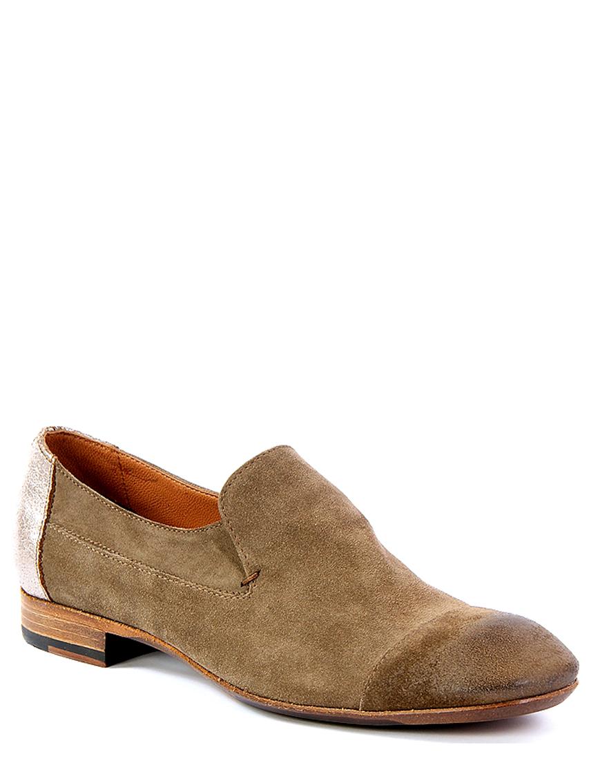 Купить Туфли, Fru.it, Серый, 100%Кожа, Весна-Лето