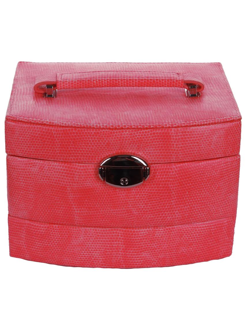 Купить Кейс для украшений, SOLO MASSIMA, Красный, Осень-Зима