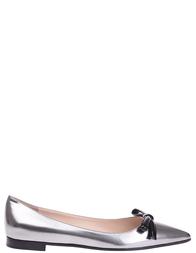 Женские туфли PRADA 2607_silver