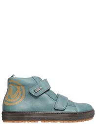 Детские ботинки для мальчиков Naturino Sontis-petrolio_green