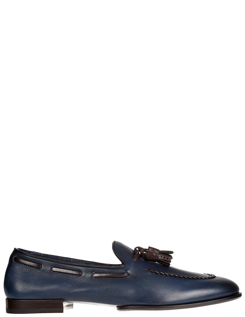 Мужские лоферы Fratelli Rossetti S12473_blue