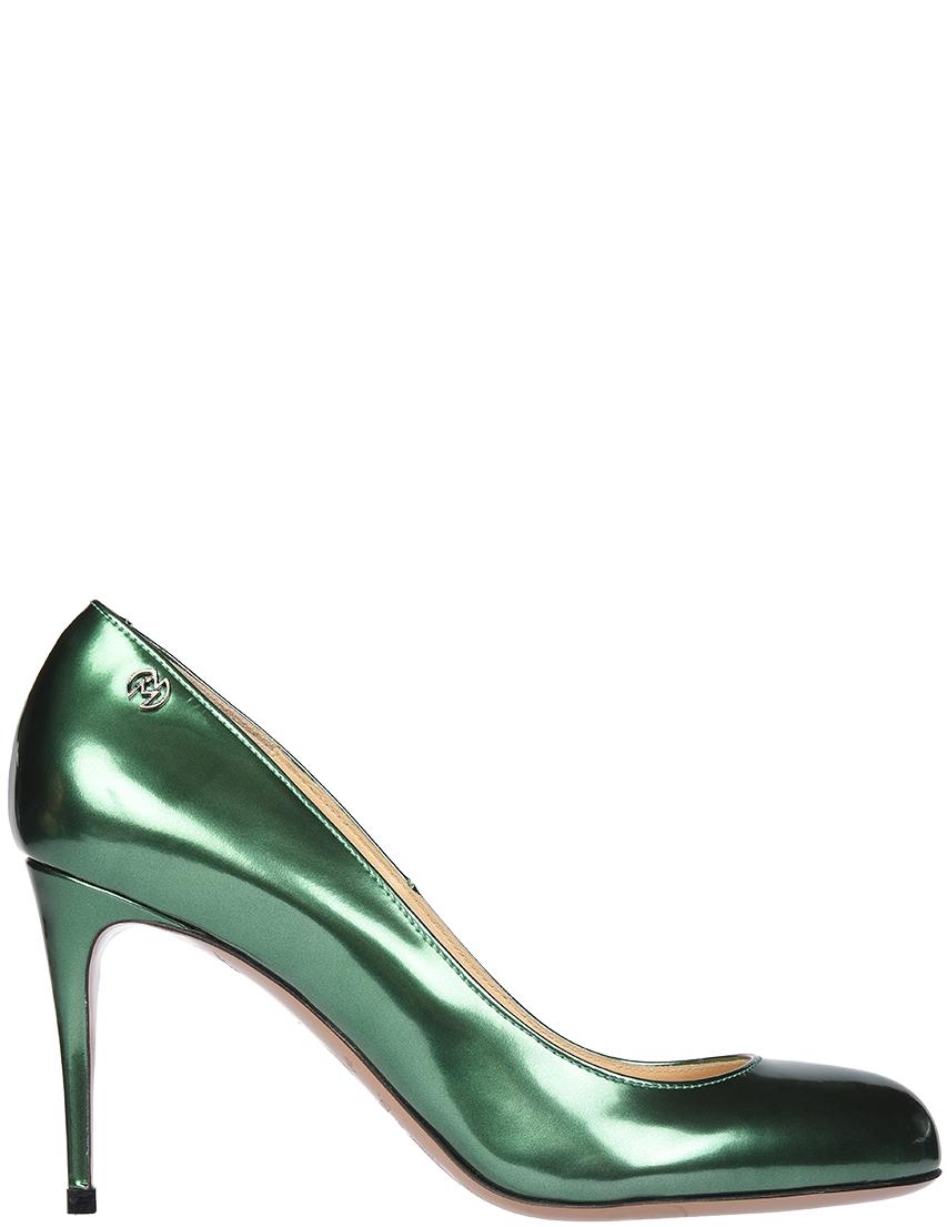 Купить Туфли, NANDO MUZI, Зеленый, Весна-Лето