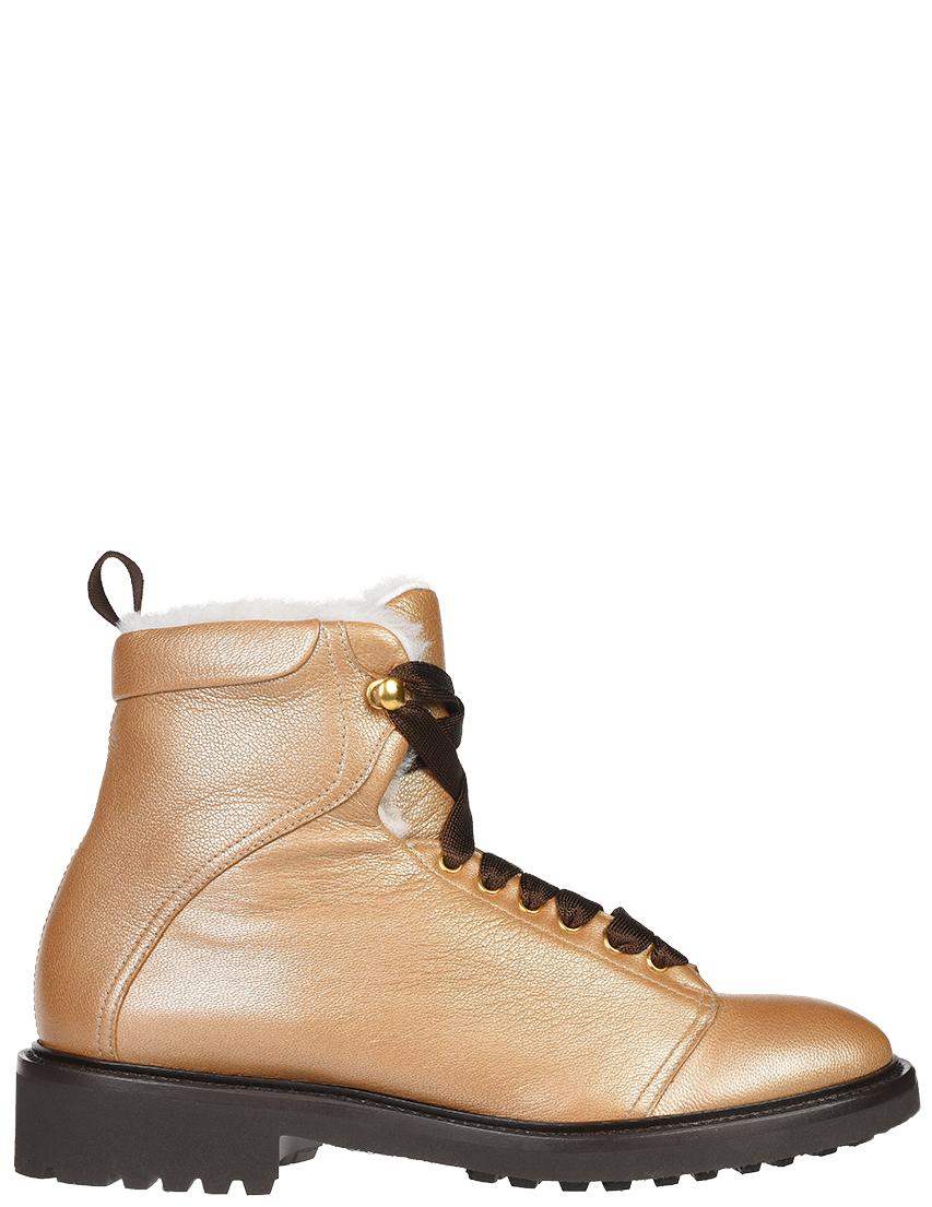 Купить Ботинки, DOUCAL'S, Золотой, Осень-Зима
