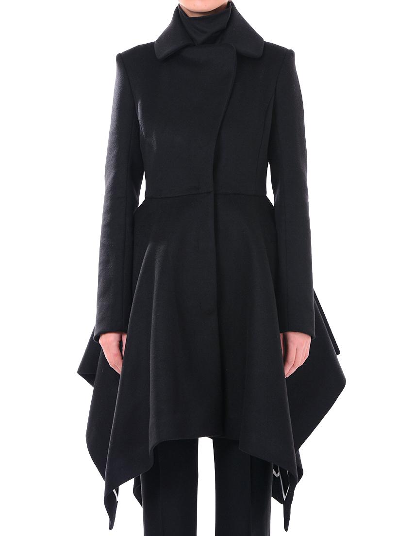 Купить Пальто, PATRIZIA PEPE, Черный, 75%Лана 25%Полиамид, Осень-Зима
