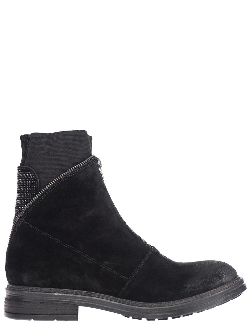 Купить Ботинки, NOW, Черный, Осень-Зима