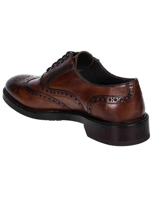 коричневые мужские Оксфорды Brecos 9130 5039 грн