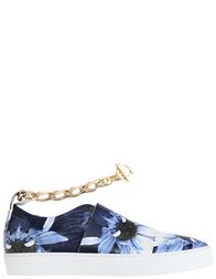 Женские кеды Stokton 103D_blue